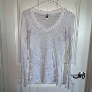 BKE burnout long sleeve shirt